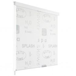 stradeXL Shower Roller Blind 120x240 cm Splash