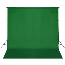 stradeXL Backdrop Support System 600x300 cm Green