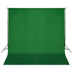 stradeXL System zawieszenia tła z zielonym tłem 600 x 300 cm