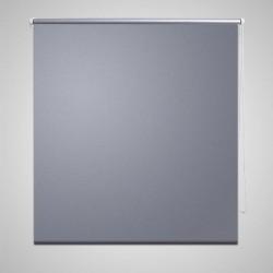 Roleta okienna zaciemniająca szara 100 x 175 cm
