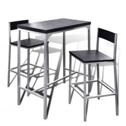 Wysoki stolik kuchenny + krzesła