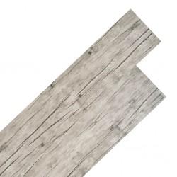 stradeXL Panele podłogowe z PVC, 5,26 m², 2 mm, kolor spłowiały dębowy