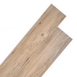 stradeXL Panele podłogowe z PVC, 5,26 m², 2 mm, dębowy brąz