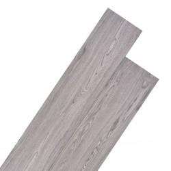 stradeXL Panele podłogowe z PVC, 5,26 m², 2 mm, ciemnoszare