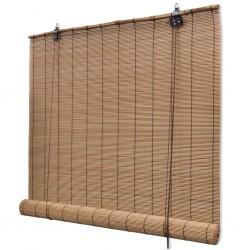 stradeXL Roller Blind Bamboo 150x160 cm Brown
