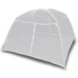stradeXL Moskitiera namiotowa, 200x120x130 cm, włókno szklane, biała