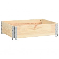 stradeXL Nadstawka paletowa., 60x80 cm, lite drewno sosnowe