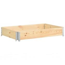stradeXL Nadstawka paletowa, 50x150 cm, lite drewno sosnowe