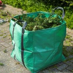 Nature Torba na odpady ogrodowe, kwadratowa, zielona, 252 l, 6072405