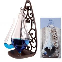 Esschert Design Barometr w butelce, żeliwny uchwyt, 0,5 L, TH31
