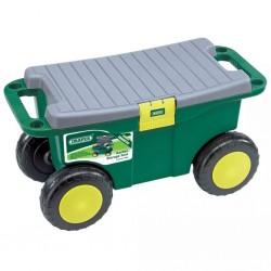 Draper Tools Ogrodowy wózek na narzędzia z siedzeniem, zielony, 60852