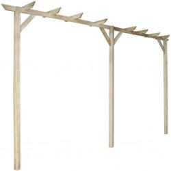 stradeXL Garden Pergola 400x40x205 cm Wood