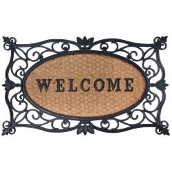 Esschert Design Doormat Welcome 75x45 cm Rubber RB107