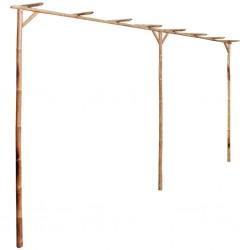 stradeXL Pergola bambusowa, 385 x 40 x 205 cm