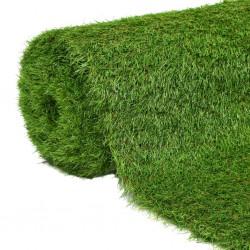 stradeXL Sztuczna trawa 1,5 x 10 m; 40 mm, zielona