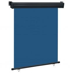 stradeXL Markiza boczna na balkon, 140 x 250 cm, niebieska