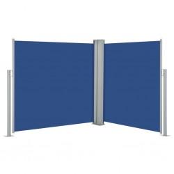 stradeXL Zwijana markiza boczna, niebieska, 100 x 600 cm
