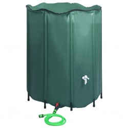 stradeXL Collapsible Rain Water Tank with Spigot 1000 L