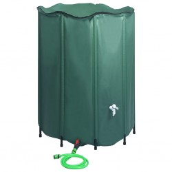 stradeXL Collapsible Rain Water Tank with Spigot 1250 L