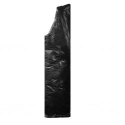 stradeXL Pokrowiec na parasol ogrodowy, z suwakiem, PE, 180 cm