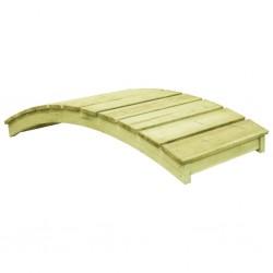 stradeXL Garden Bridge 170x74 cm Impregnated Pinewood