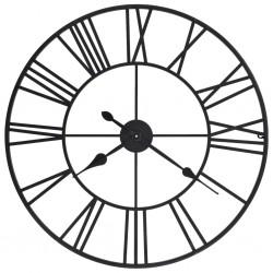 stradeXL Vintage Wall Clock with Quartz Movement Metal 80 cm XXL