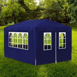 stradeXL Namiot imprezowy, 3 x 4 m, niebieski