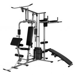 stradeXL Wielofunkcyjna domowa siłownia, 65 kg