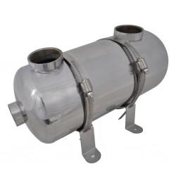 Basenowy wymiennik ciepła 355 x 134 mm 40 kW