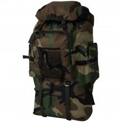 stradeXL Plecak XXL w wojskowym stylu, 100 L, moro