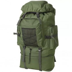 stradeXL Plecak XXL w wojskowym stylu, 100 L, zielony