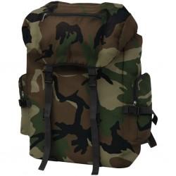 stradeXL Plecak w wojskowym stylu, 65 L, moro
