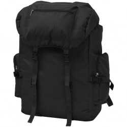 stradeXL Army-Style Backpack 65 L Black