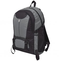 stradeXL Hiking Backpack 40 L Black and Grey