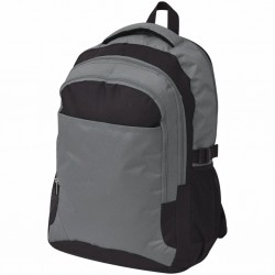 stradeXL School Backpack 40 L Black and Grey