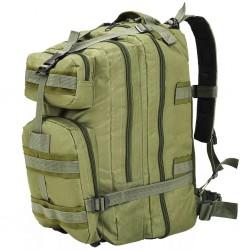 stradeXL Plecak w stylu wojskowym, 50 L, oliwkowy zielony