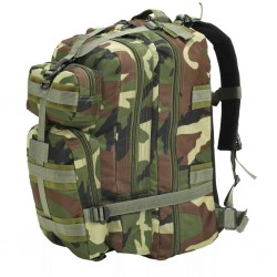 stradeXL Army-Style Backpack 50 L Camouflage