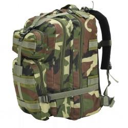 stradeXL Plecak w wojskowym stylu, 50 L, moro
