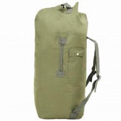 stradeXL Army-Style Duffel Bag 85 L Olive Green