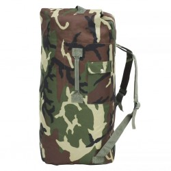 stradeXL Army-Style Duffel Bag 85 L Camouflage