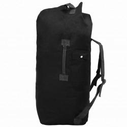 stradeXL Army-Style Duffel Bag 85 L Black