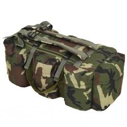stradeXL Torba wojskowa 3w1, worek w stylu militarnym, 120 L, moro