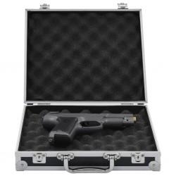 stradeXL Futerał na broń, aluminium, ABS, czarny