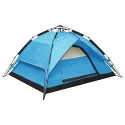stradeXL Namiot typu pop-up, 2-3 os., 240x210x140 cm, niebieski
