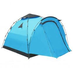 stradeXL Namiot turystyczny typu pop-up, 3-osobowy, niebieski