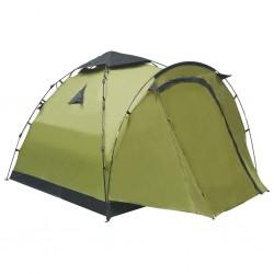stradeXL Namiot turystyczny typu pop-up, 3-osobowy, zielony