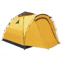 stradeXL Namiot turystyczny typu pop-up, 3-osobowy, żółty
