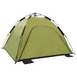stradeXL Namiot plażowy typu pop-up, 220x220x160 cm, zielony