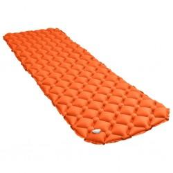 stradeXL Dmuchany materac, 58x190 cm, pomarańczowy
