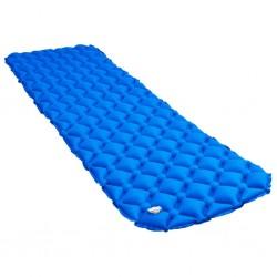 stradeXL Dmuchany materac, 58x190 cm, niebieski